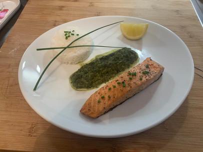 Pavé de saumon unilaterale 15€