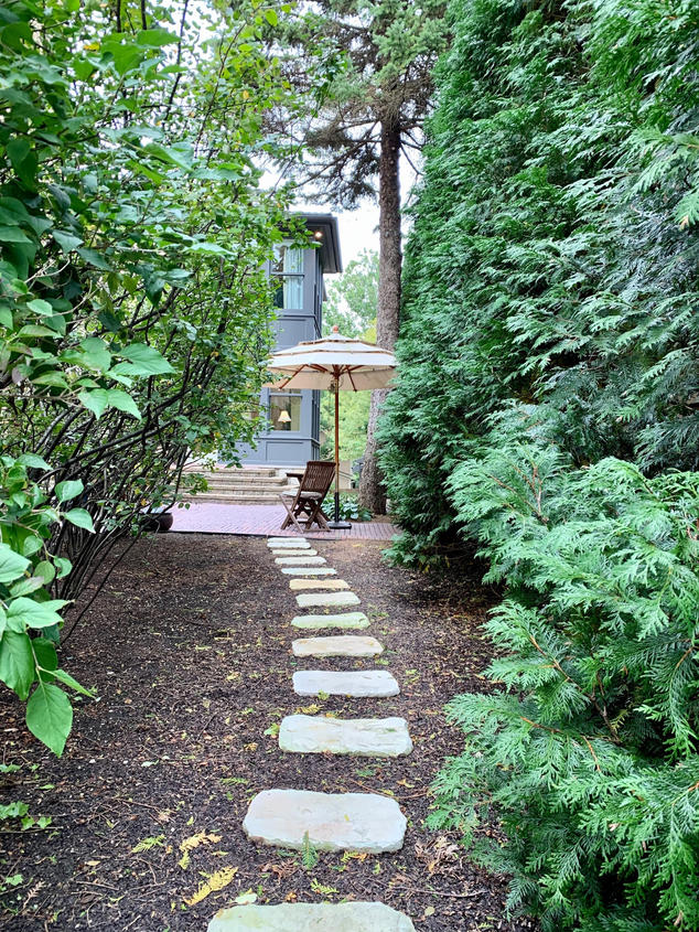 Path to Private Courtyard