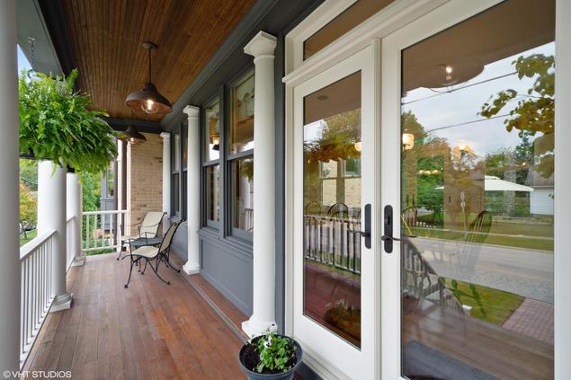 Porch closeup