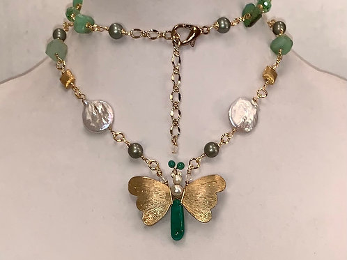 Marti Butterfly Necklace