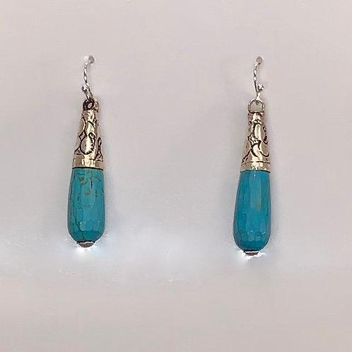 Tibetan Drop Earring