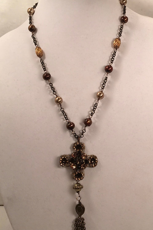 Isabella Cross necklace