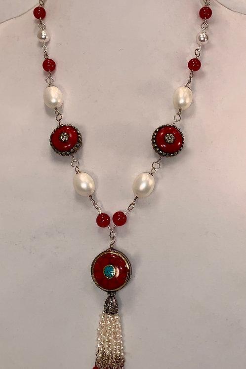 Isabella Tassel Necklace