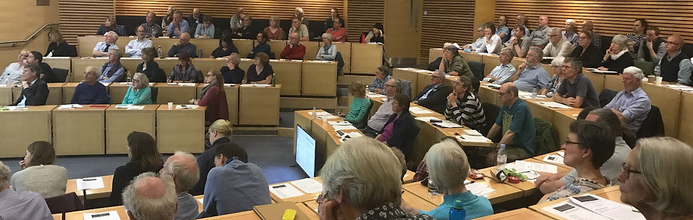 The Oxford Colloquium audience