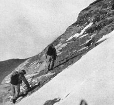 Wager climbing on Mount Everest