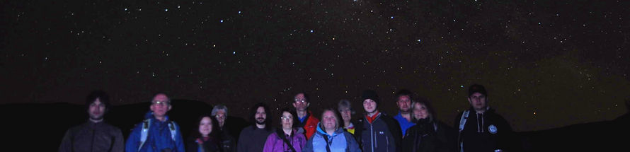 Visiting the Las Canadas volcanic caldera at night