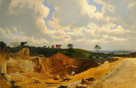 Shotover Pits by William Turner of Oxford