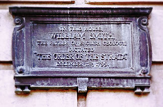 Plaque, 29 Great Pulteney Street, Bath.