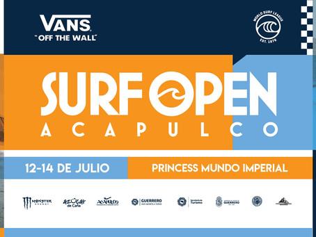 LISTOS PARA EL Vans Surf Open Acapulco 2019