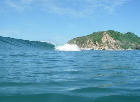 Surf para principiantes en Chacahua