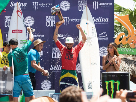 Lucas CHianca: ganador del Puerto Escondido Cup 2018