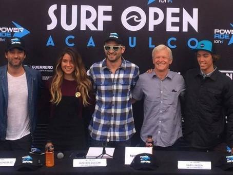 Ya viene la Quinta Edición del Surf Open Acapulco 2017