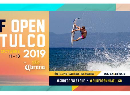 Inicia el Surf Open Huatulco by Corona 2019
