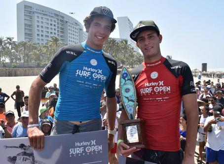 Lucca Mesinas gana el Hurley Surf Open Acapulco 2018