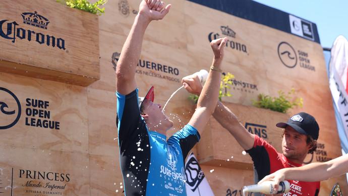 Luke Gordon: ganador del vans surf open Acapulco 2019