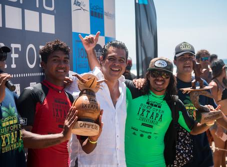 Rey Hernandez: ganador Surf Open Ixtapa 2018