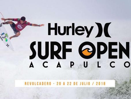 Esta por comenzar el Hurley Surf Open Acapulco2018
