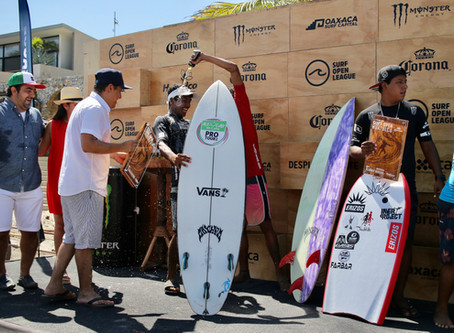 Rey Hernandez es el ganador del Surf Open Huatulco