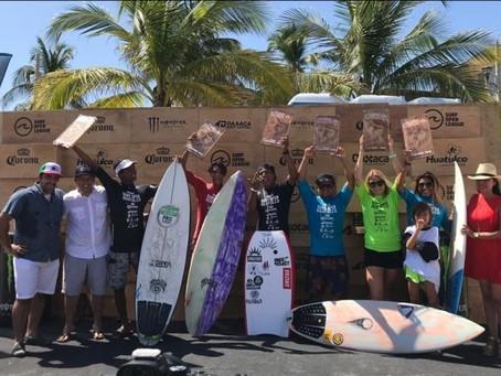 Termina el Surf Open Huatulco by Corona 2019