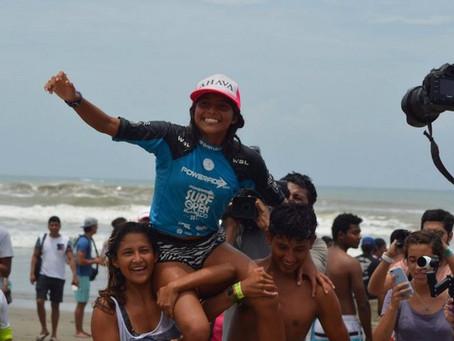 Maya Larripa: Ganadora Powerade Surf Open Acapulco 2017