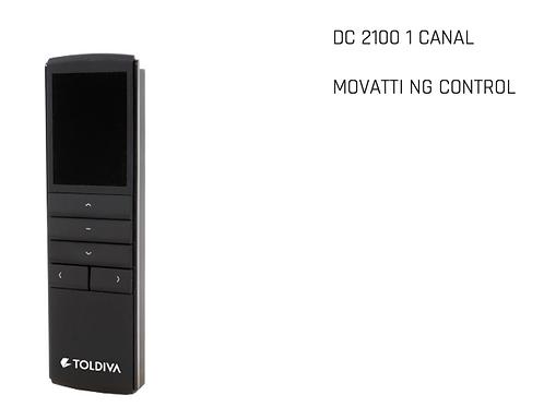 MOVATTI NG CONTROL REMOTO DC2100 (1 CANAL) LOGO TOLDIVA