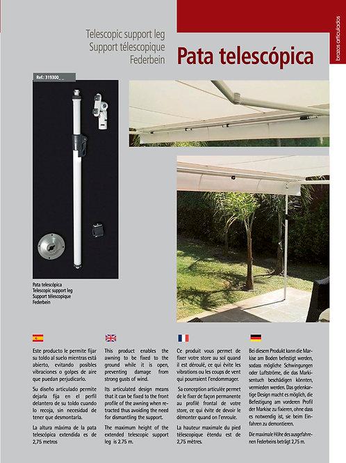 PATA TELESCOPICA SIPLAN