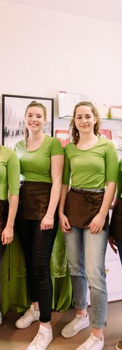 Unser fleißiges Café-Team