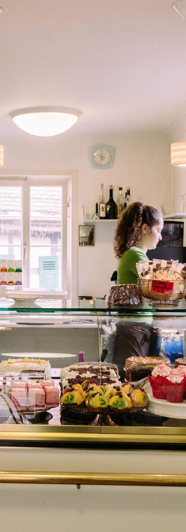 Willkommen in unserem Café!