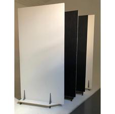 black white poly boards