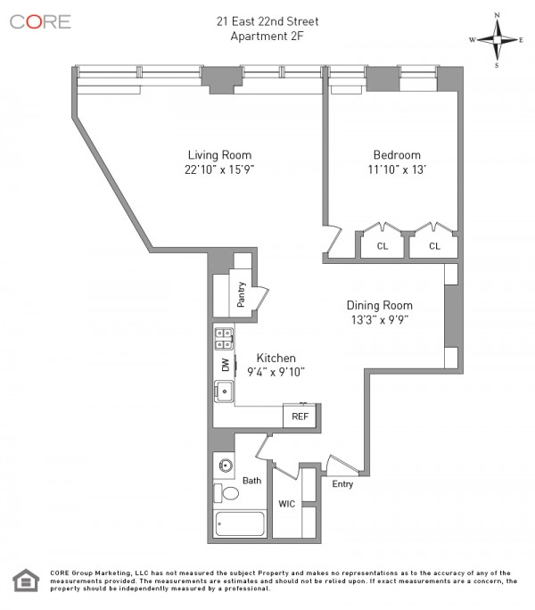 21 east 22nd 2f floorplan