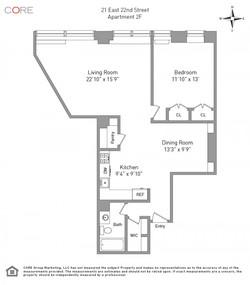 21 east 22nd 2f floorplan