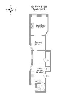 Floor Plan - 135 Perry Street #9.jpg
