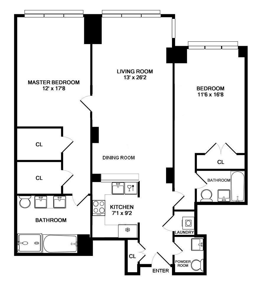 45 Park Ave, 1503 Floor Plan.jpg
