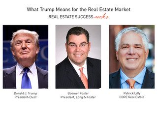 What Trump Means for the Real Estate Market