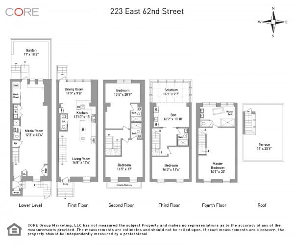 Floorplan  223 East 62nd
