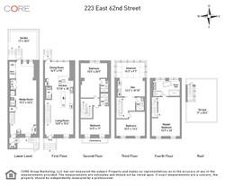Floorplan  223 East 62nd