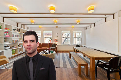 Actor Zachary Quinto Drops $3.2 Million on Noho Apartment