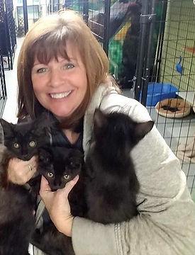Michelle with black kittens.jpg