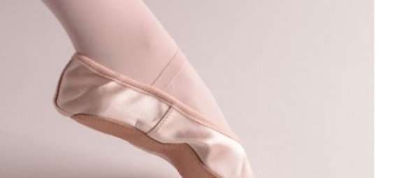Pink Satin Ballet Shoes