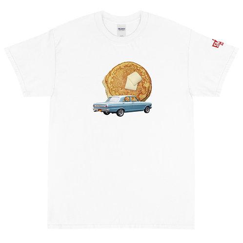 Pancake White Short Sleeve T-Shirt