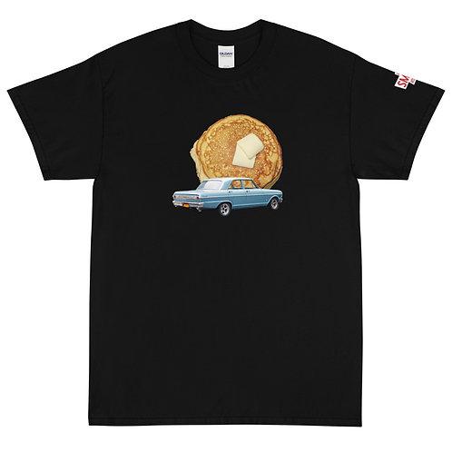Pancake Black Short Sleeve T-Shirt