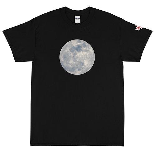 Moon Black Short Sleeve T-Shirt