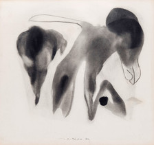 İsimsiz, 1984 Kâğıt üzerine karışık teknik 50 x 53 cm