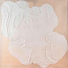 İsimsiz, 1994-95 Branda üzerine model hamuru ve akrilik 200 x 200 cm