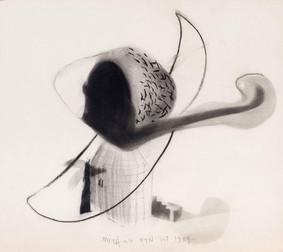 İsimsiz, 1984 Kâğıt üzerine karışık teknik 47,5 x 53,5 cm