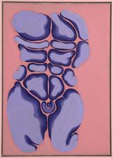 İsimsiz, 1988-89 Tuval üzerine akrilik 100 x 80 cm