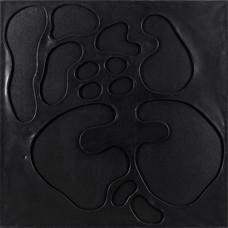 İsimsiz, 2005 Şasiye gerilmiş tuval bezi üzerine akrilik 123 x123 cm