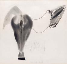 İsimsiz, 1984 Kâğıt üzerine karışık teknik 50 x 52,5 cm