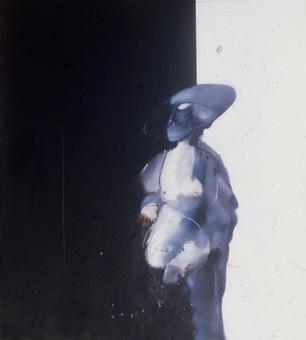 İsimsiz, 1981 Kontraplak üzerine akrilik ve yağlı boya