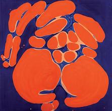 İsimsiz, 1989 Tuval üzerine akrilik 132 x 132 cm